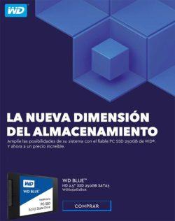 WD SSD blue precio