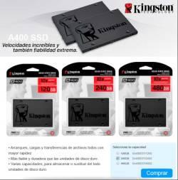 kingston ssd precio