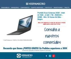 comprar Portátil Acer Extensa 2540