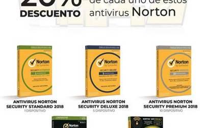 20% de descuento en Norton