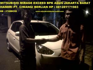 MIRAGE EXCEED Pak AGUS SOEMANTRI Jakarta Barat
