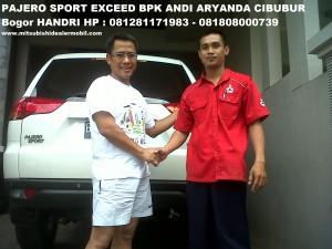 Pajero Sport EXCEED 2WD AT Bapak Andi Aryanda IR