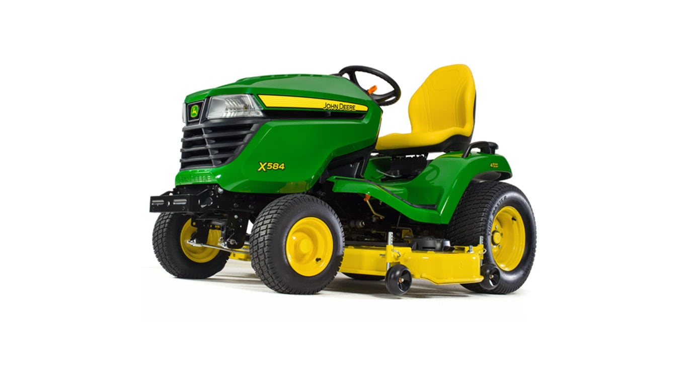 hight resolution of new x584 lawn tractor with 48 deck