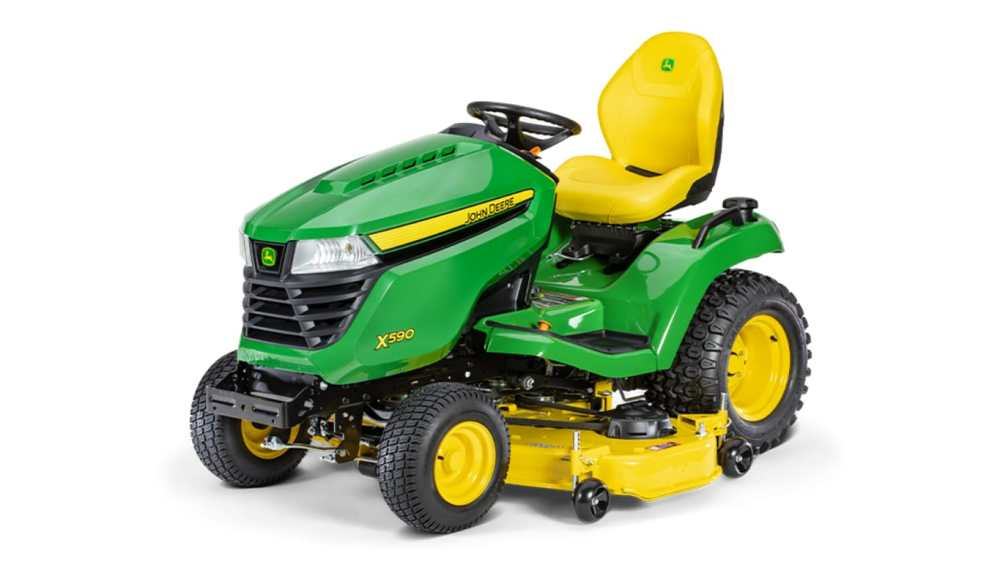 medium resolution of new x590 lawn tractor with 54 in deck