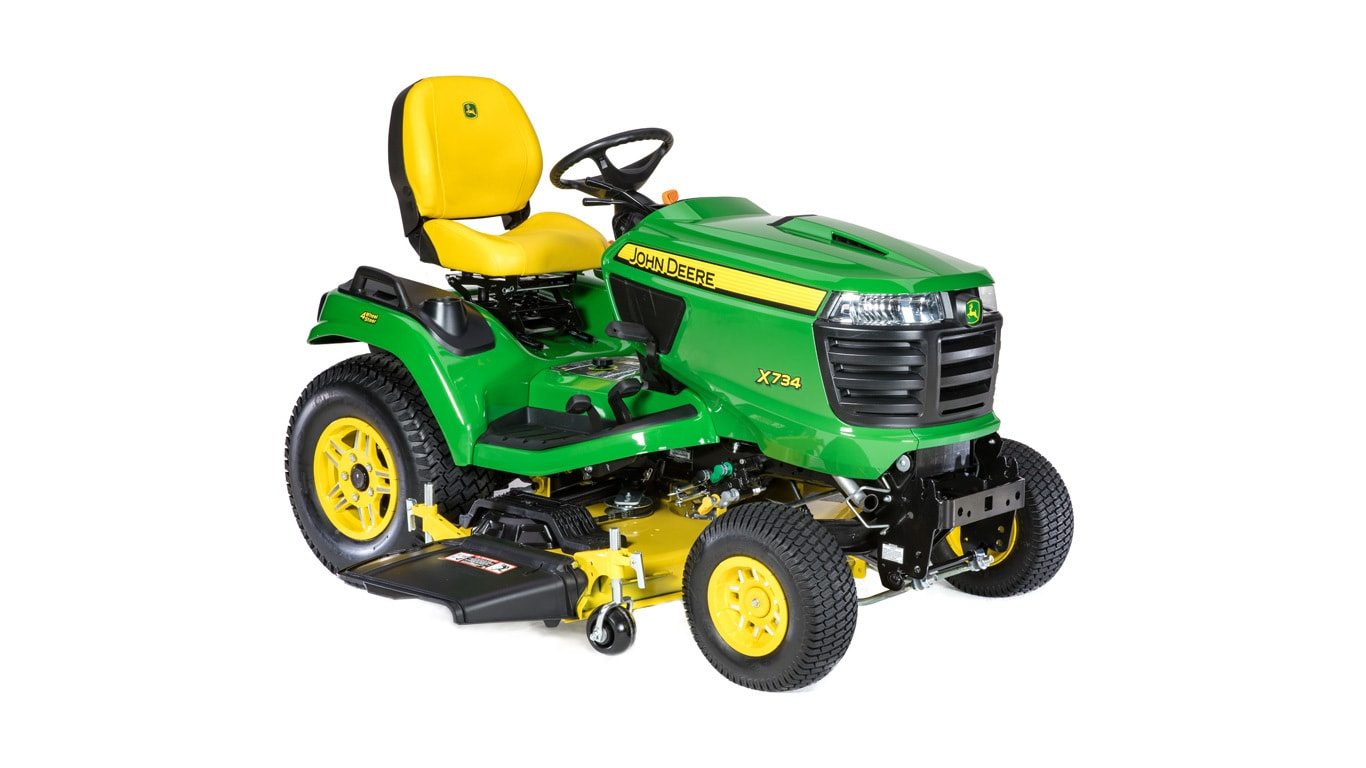 hight resolution of new x734 signature series lawn tractor