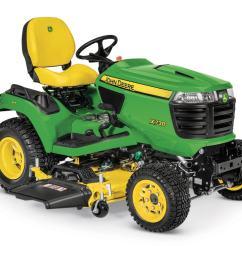 new x738 signature series lawn tractor [ 1366 x 768 Pixel ]