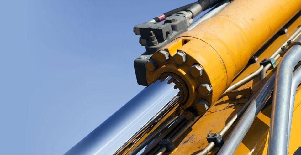 Jual Oli Mesin hidrolik ekscavator alat berat crane dump truck
