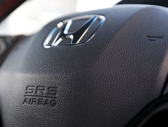 The impact of the airbag scandal on Honda sales.