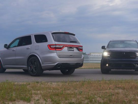 A Big Dodge SUV for your Drive