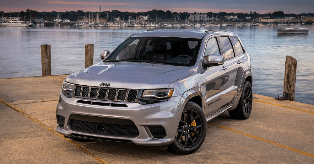 The Jeep Grand Cherokee Trackhawk has a History