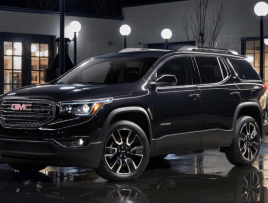 Several Choices in the GMC Acadia