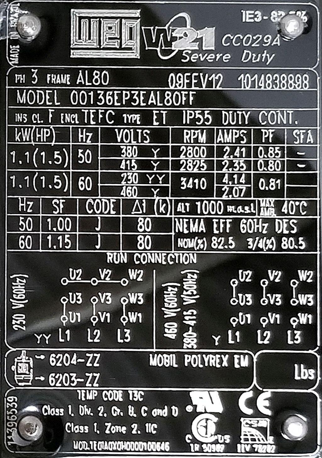 weg w22 wiring diagram jeep tj radio motor nameplate motorwallpapers org