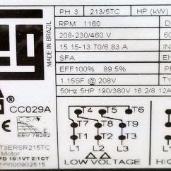 Weg 12 Lead Motor Wiring Diagram Dometic Penguin Nameplate - Impremedia.net