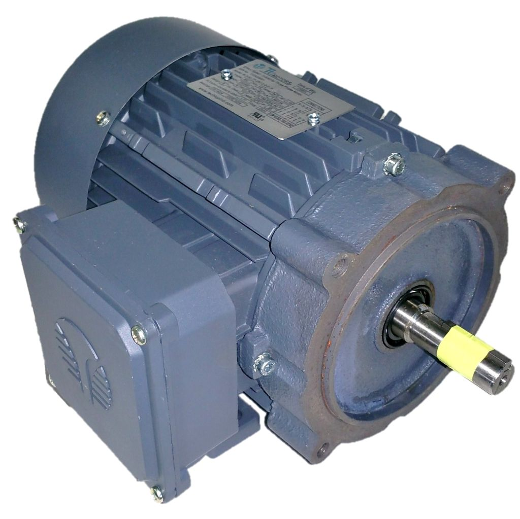 050 HP 3600 RPM Techtop Motor with 1 HP 230 Volts