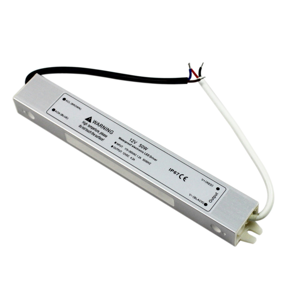Transformador Led Para Exterior IP67 50w
