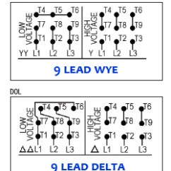 Wiring Diagram Motor 2005 Nissan Altima Alarm Three Phase Electric Diagrams Dealers Industrial 9 Lead