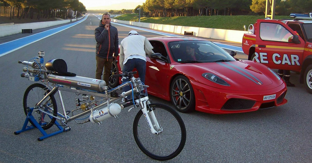 Francois Gissy Spine Crusher Bicycle