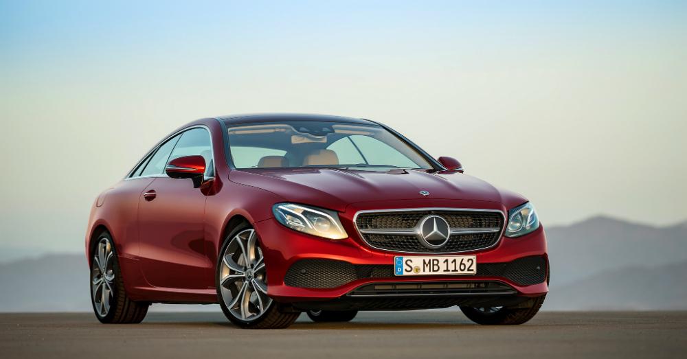 01.06.17 - Mercedes-Benz E-Class Coupe