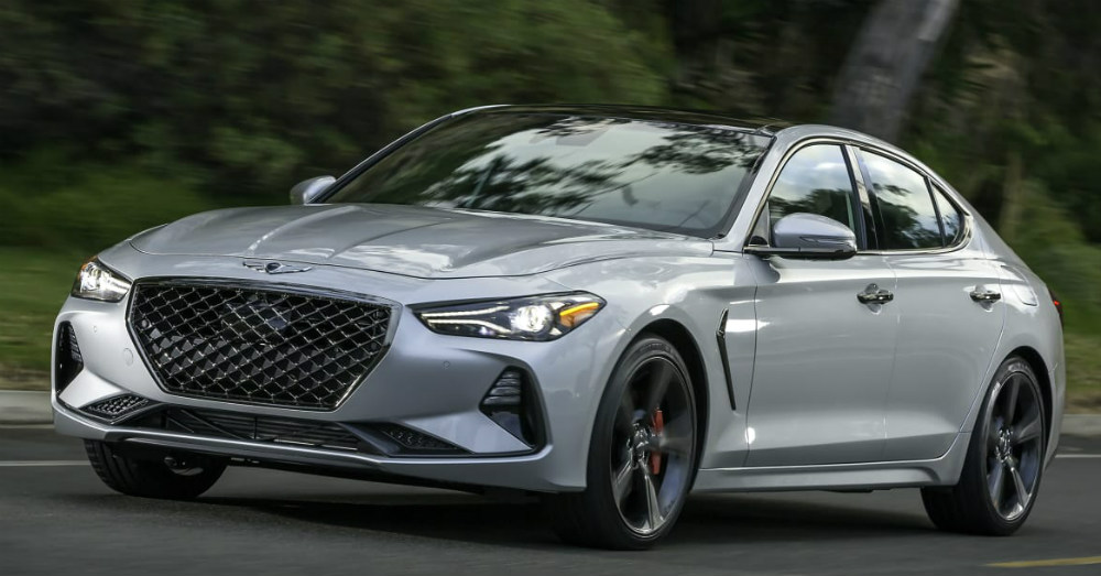 The Genesis G70 Offers a Spectacular Dash