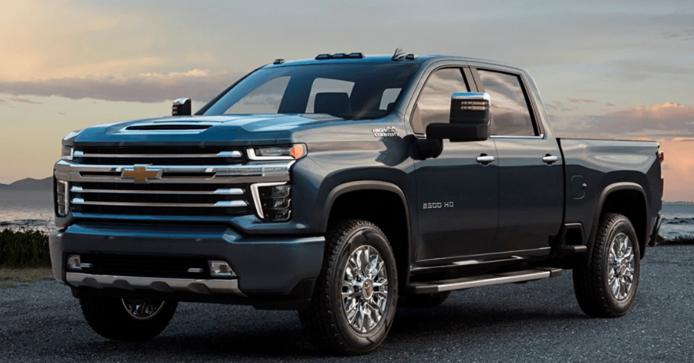 Get Big in the Chevrolet Silverado 2500HD