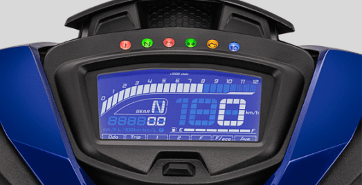 MX-KING-Full-LCD-Speedometer