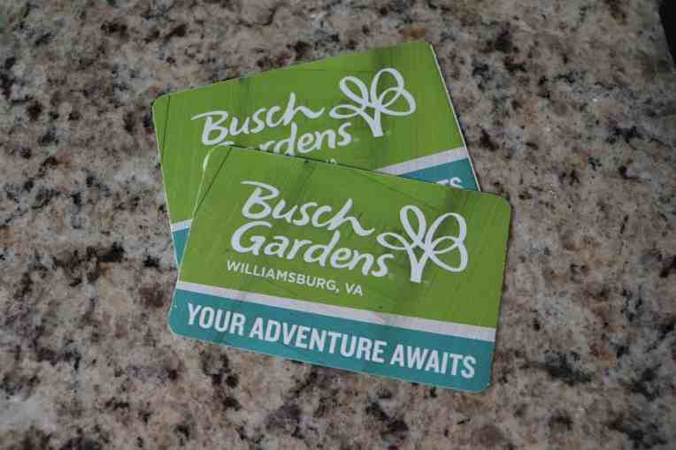 UNLIMITED SUMMER VISITS TO BUSCH GARDENS ONLY $45!