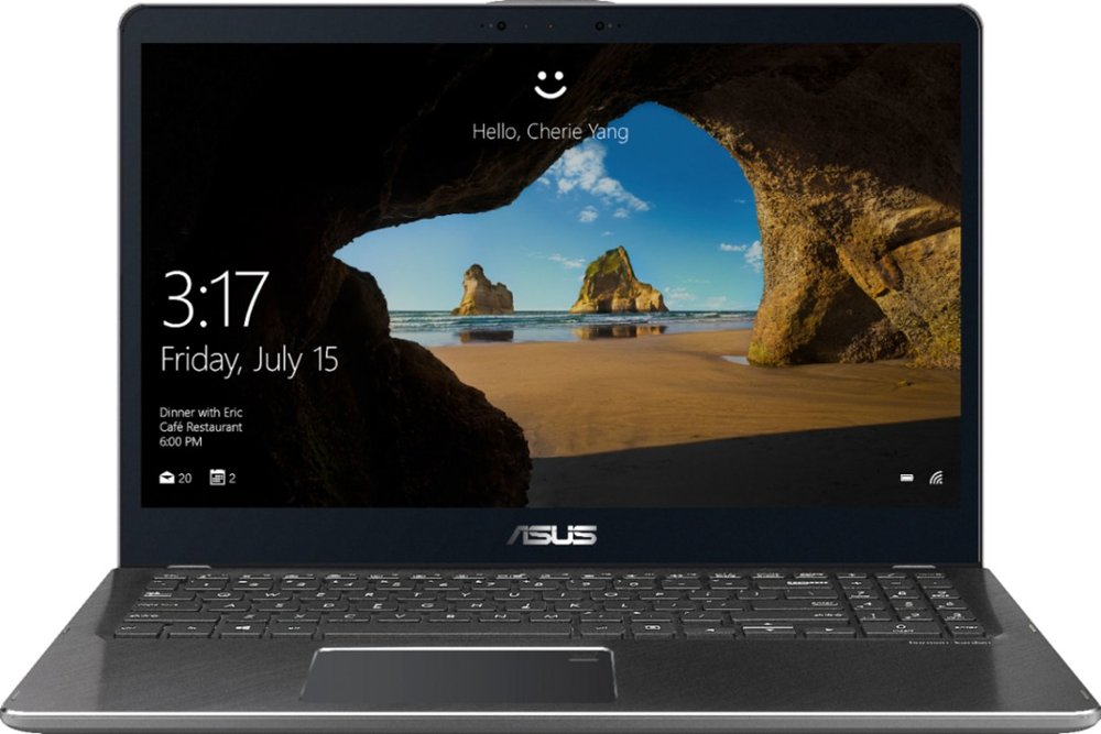 Best Buy Deal of the Day!-ASUS – 2-in-1 15.6″ Touch-Screen Laptop – Intel Core i7 – 16GB Memory – 2TB Hard Drive – Gun Metal Gray for $699 (save $300)