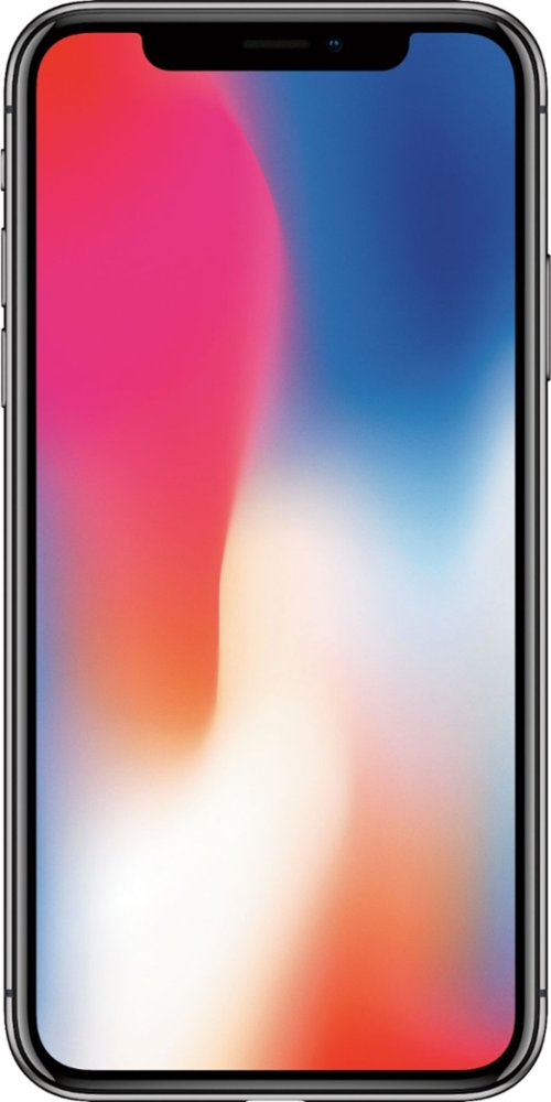 Today only! Apple – iPhone X with 64GB Memory Cell Phone (Unlocked) only $699! ($200 off)