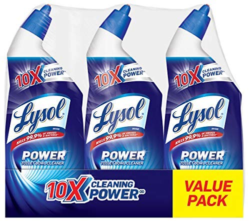 3 Count Lysol Lysol Power Toilet Bowl Cleaner only $4.74! (was $10.99)