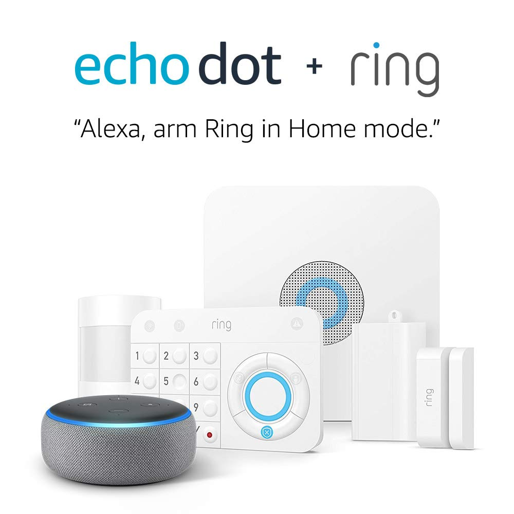 Ring Alarm 5 Piece Kit + Free Echo Dot  only $139.99! (was $199)
