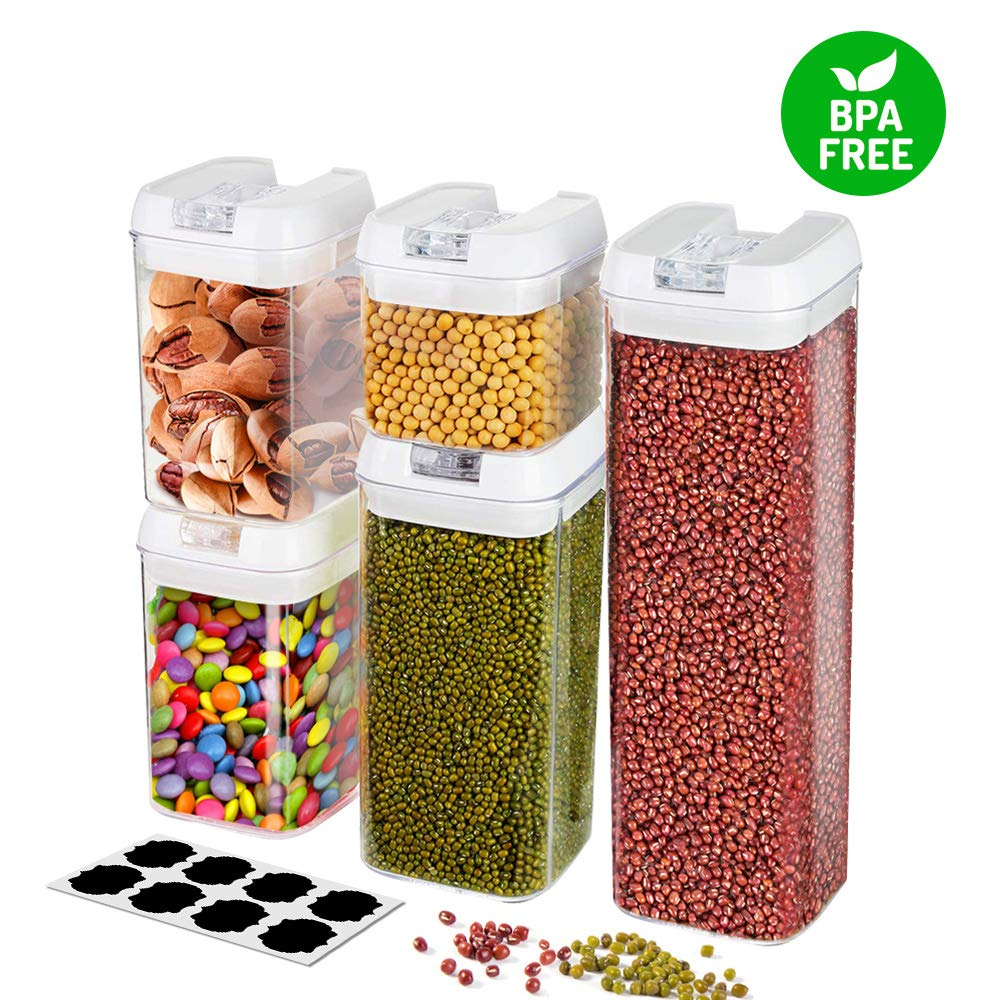 Frebw Space-Saving Food Storage Containers, 5-Pc Set only $22.49!