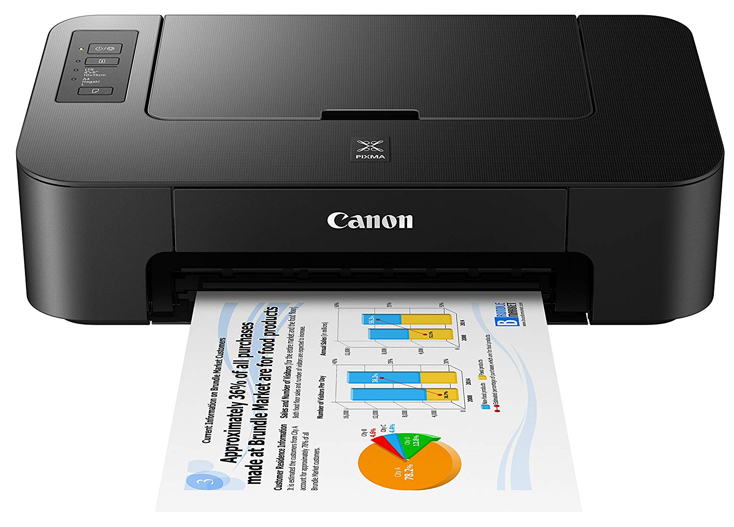 Canon TS202 Inkjet Photo Printer only $19.99! (was $35)