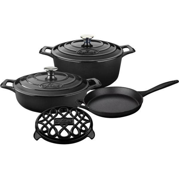 PRO 6-Piece Enameled Cast Iron Cookware Set only $154 with coupons! (Save $82.95)