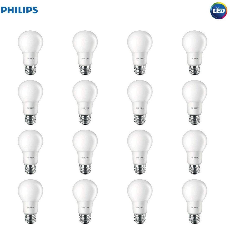 16 Pack Philips LED Light Bulbs only $17.89! (34% off)