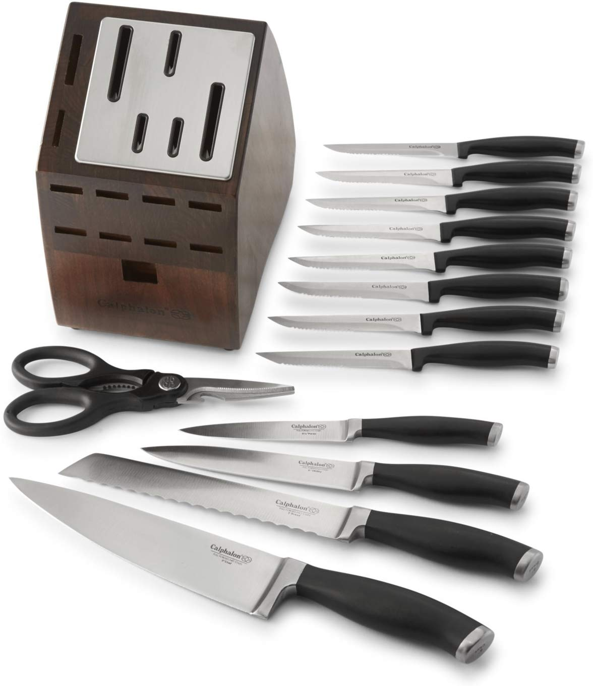 Calphalon Self-Sharpening 14 Piece Cutlery Knife Block Set only $59.97! (was $209)
