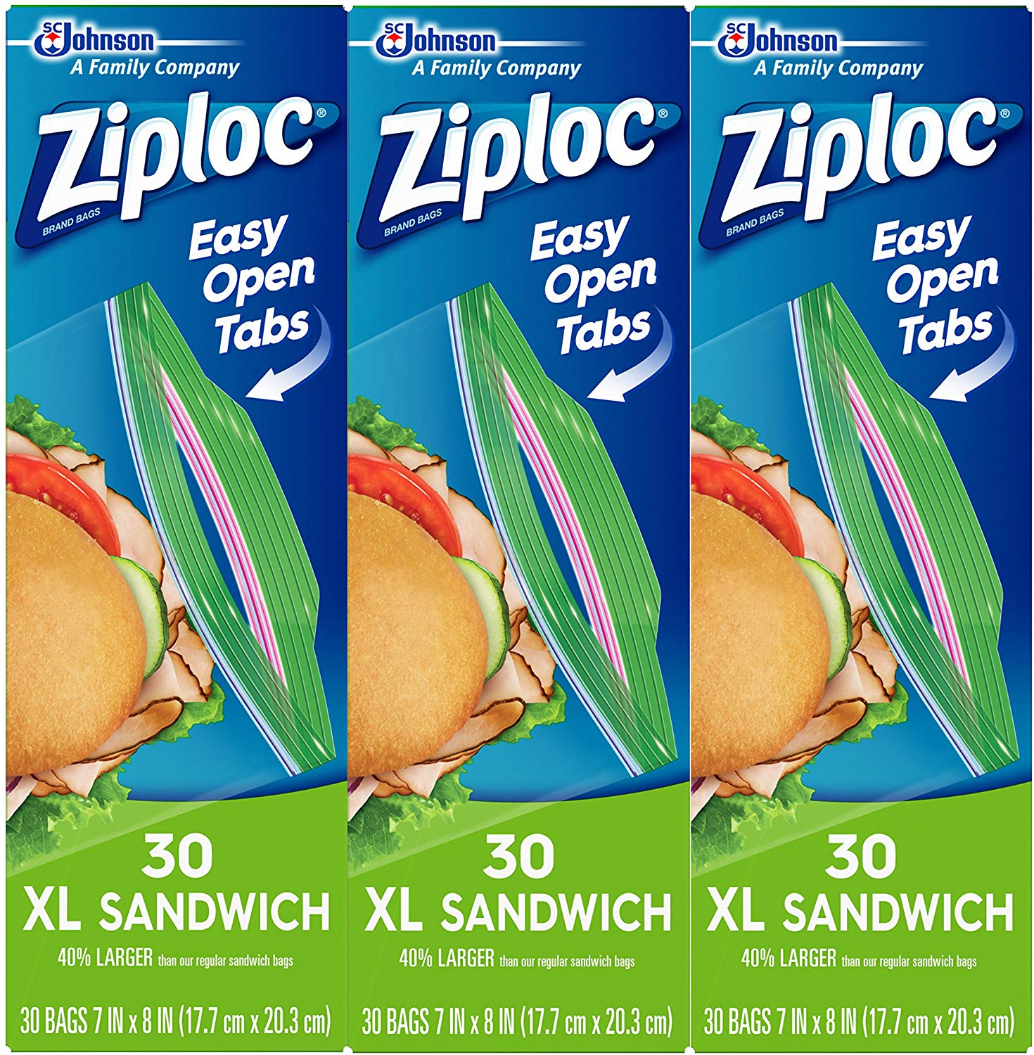 90 Ziploc Sandwich Bags only $3.85! (was $8.97)