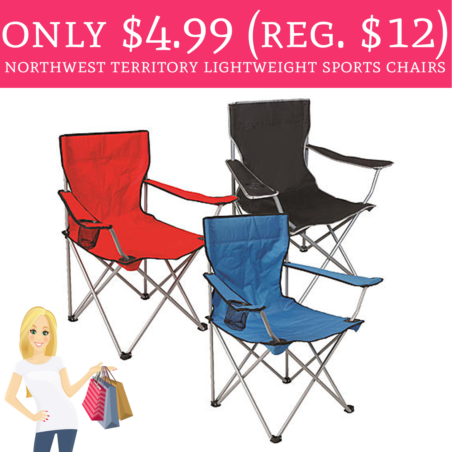 northwest territory chairs chair covers in india only 4 99 regular 12 lightweight sports perfect for summer