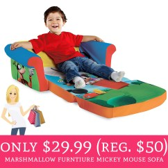 Mickey Mouse Clubhouse Flip Open Sofa With Slumber Bed Lazy Boy Sectional Manual Home The Honoroak