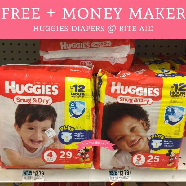 Print Starts 10 8 - Free Money Maker Huggies Diapers