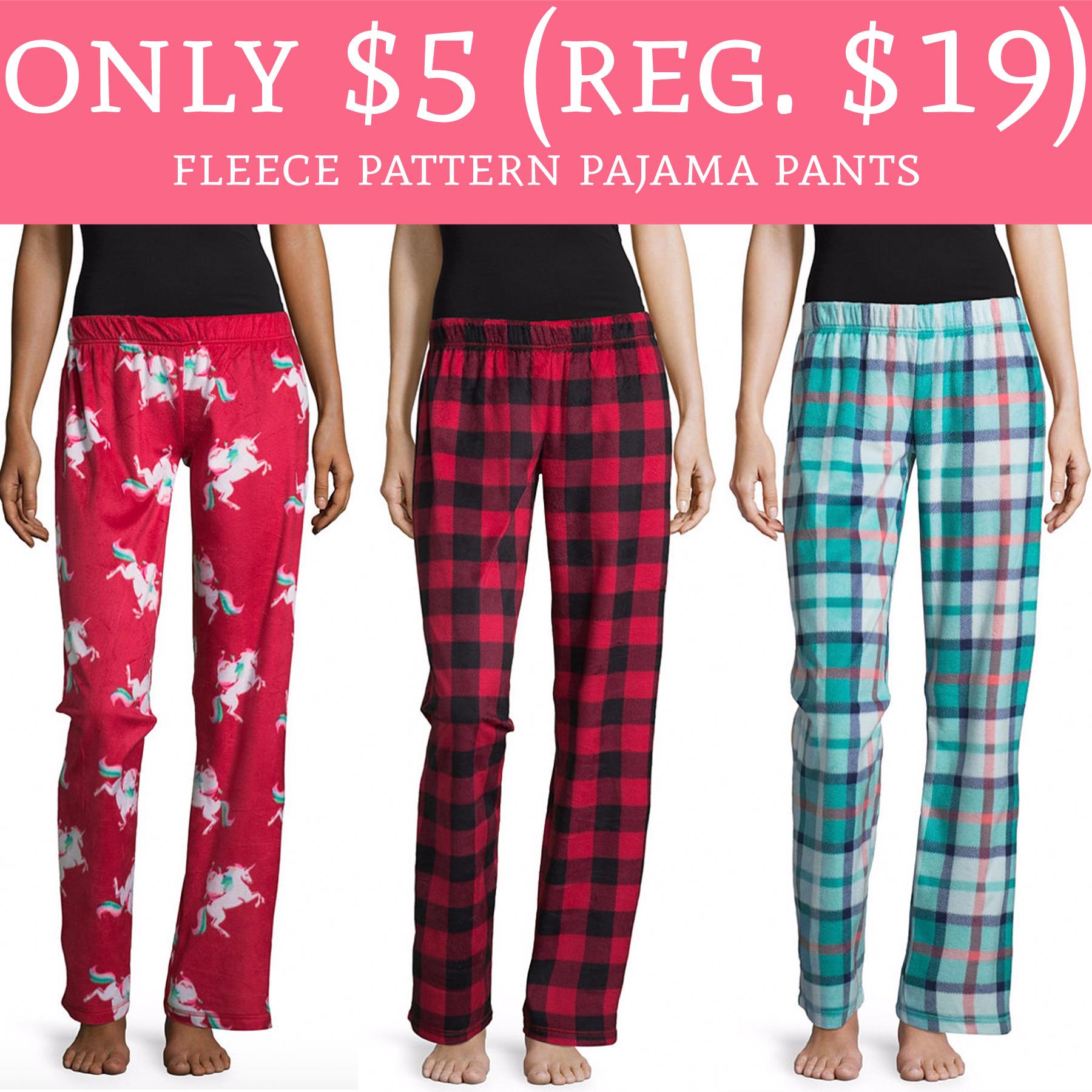 glad kitchen bags cookware whoa! only $5 (regular $19) fleece pattern pajama pants ...
