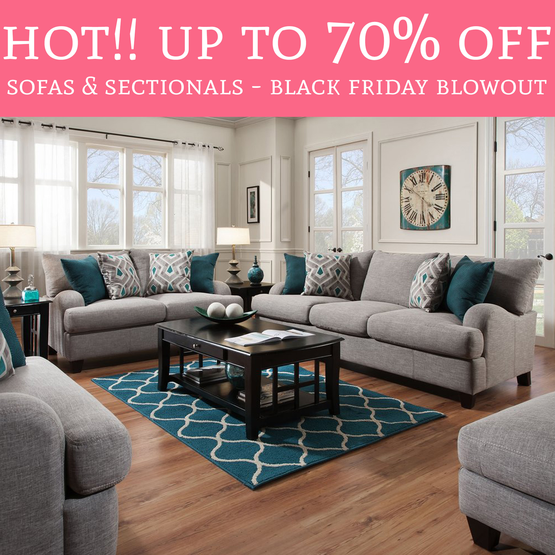 HOT Black Friday Blowout Sale Up to 70 Off Sofas
