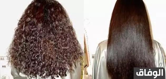 وصفات لترطيب الشعر الهايش