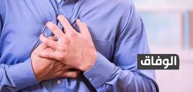 ألم في منتصف القفص الصدري عند التنفس