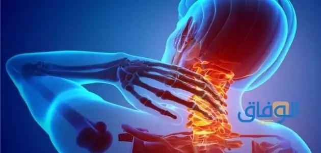 أعراض الإصابة بغضروف الرقبة