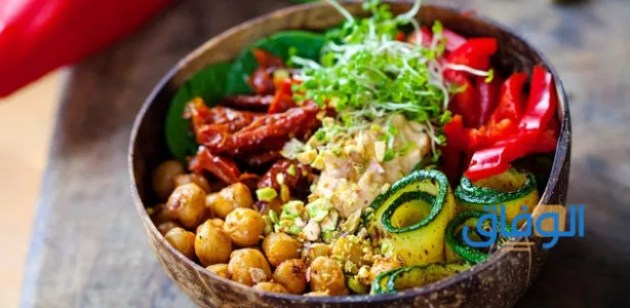 اكلات نباتية خالية من الدهون