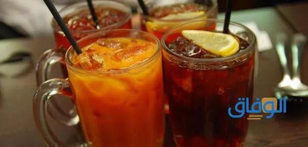 انواع المشروبات في الكافيهات