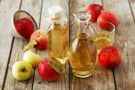 علاج دوالي الخصية بخل التفاح