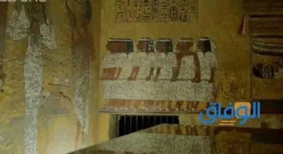 طريقة فتح سقف مقبرة فرعونية