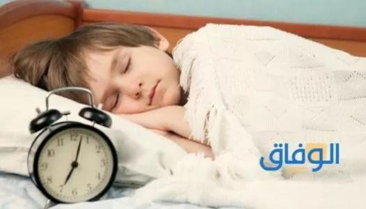 النوم المبكر لعلاج التوتر العصبي