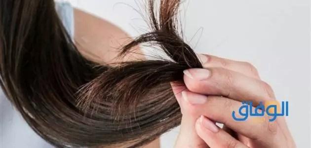 التعرض إلى المواد الكيميائية وعلاقته بتقصف الشعر